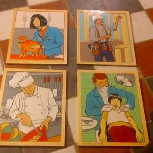 Children's Wooden Puzzles